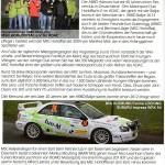 Zeitungsbericht ARBÖ Rallye 2013