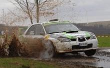 Platz drei trotz Ausrutscher bei Saar-Pfalz-Rallye 2008