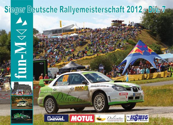 Dirk Klemund - Sieger Deutsche Rallyemeisterschaft 2012 DIv. 7