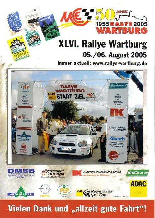 Wartburg-Rallye 2005