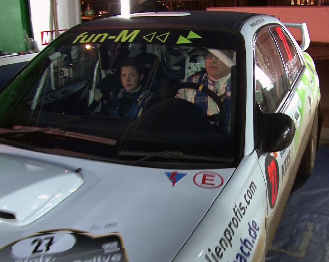 Neue Beifahrerin Carina Lücking