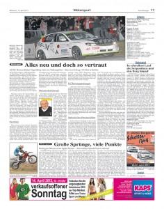Vorankündigung Rallye Vogelsberg Hessen